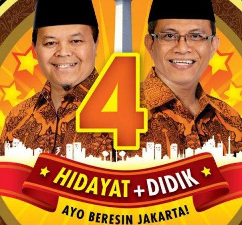 Coblos Nomor 4: Bang Hidayat+Bang Didik