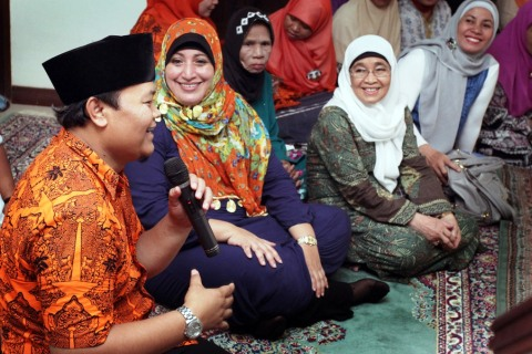 Hidayat Nur Wahid Gelar Tahlilan
