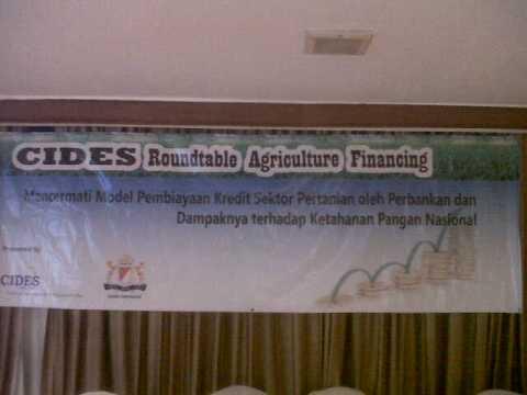 spanduk seminar CIDES