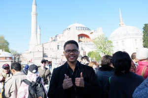 Berfoto di Hagia Sophia