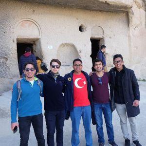 Diajak foto sama orang Turki