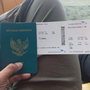 Siap-siap menuju Istanbul Turki